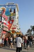 Busy on the Venice Beach boardwalk