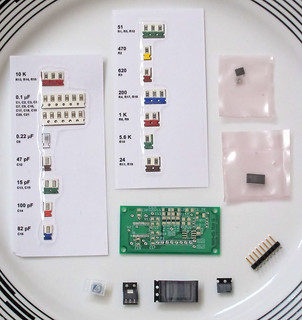 DIY: dds60 kit (60MHz rf sine/square signal generator using AD9851 chip)