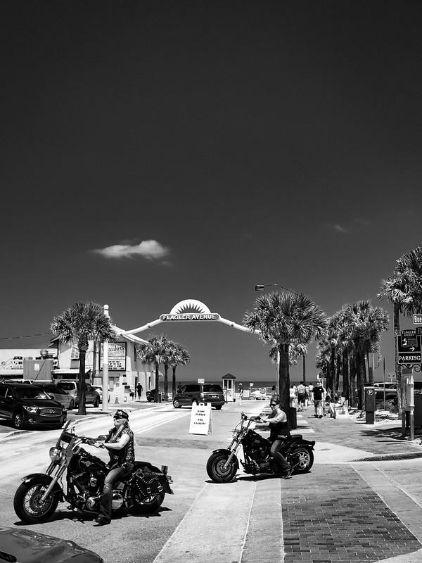 Harley Ladies on Flagler Ave.