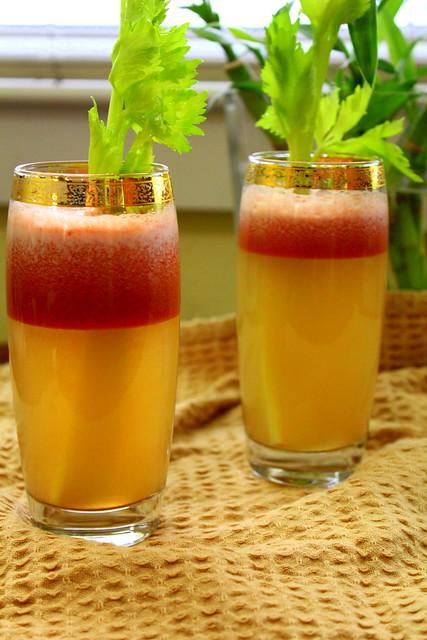 celery and tomato juice