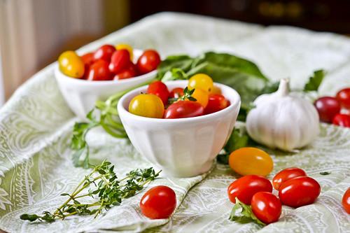 Garlic Herb Tomatoes 12