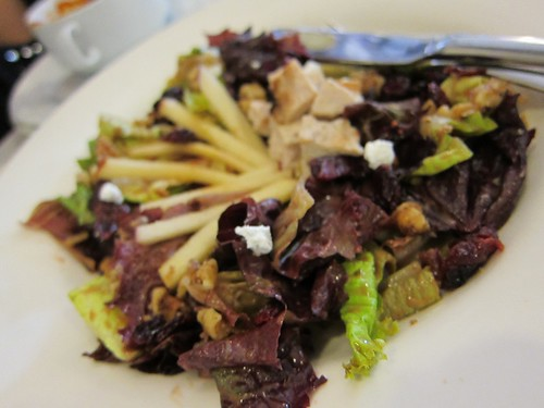 cranberry, apple & chicken salad