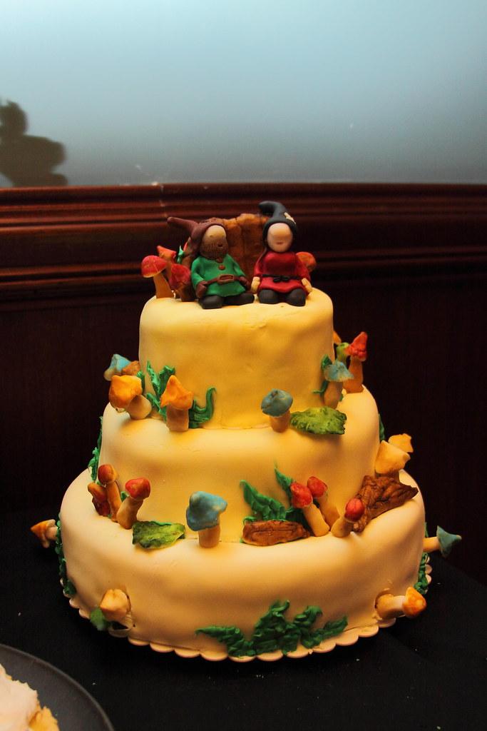 The Mushroom Cake