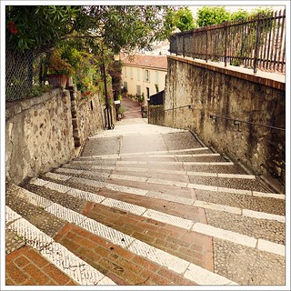 Stairs to the church