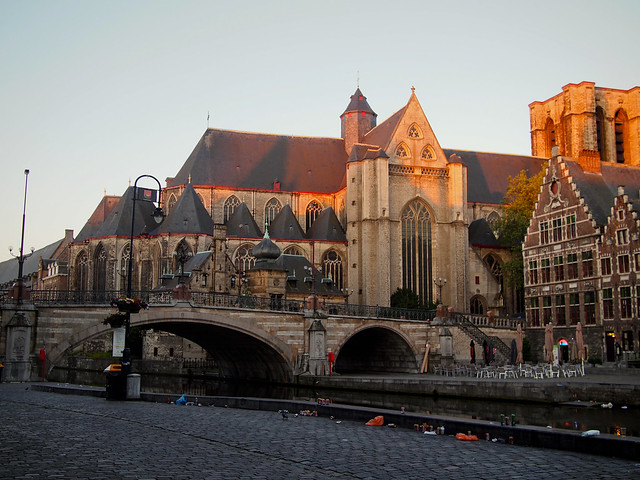 Sunrise in Gent Belgium