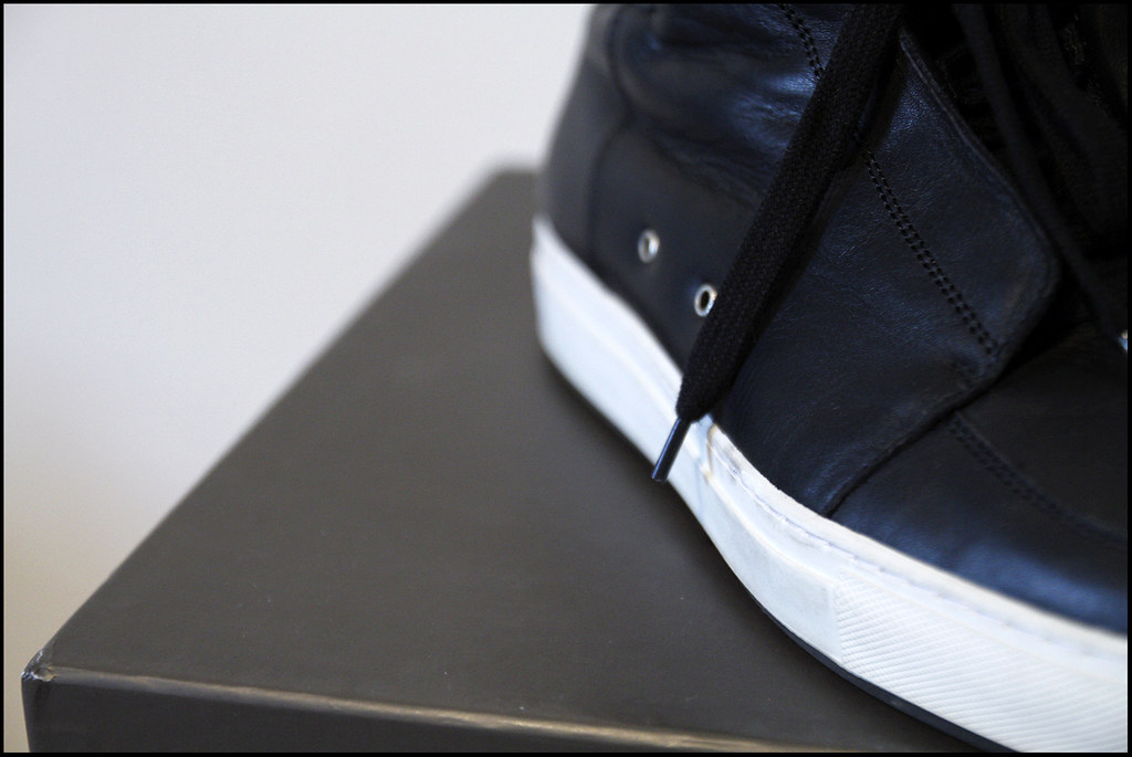 Tuukka13 - Sneak(er) Preview - My New Kris Van Assche High Top Sneakers x2 - Surgery and Hidden Laces - 4