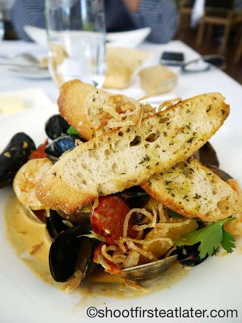 The Restaurant at The J. Paul Getty Museum- bouillabaisse $20. Paul Getty Museum-010