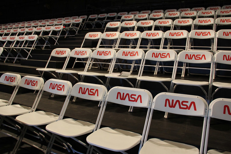 Tom Sachs Space Program Mars - NASA Chairs - Photo Designboom -