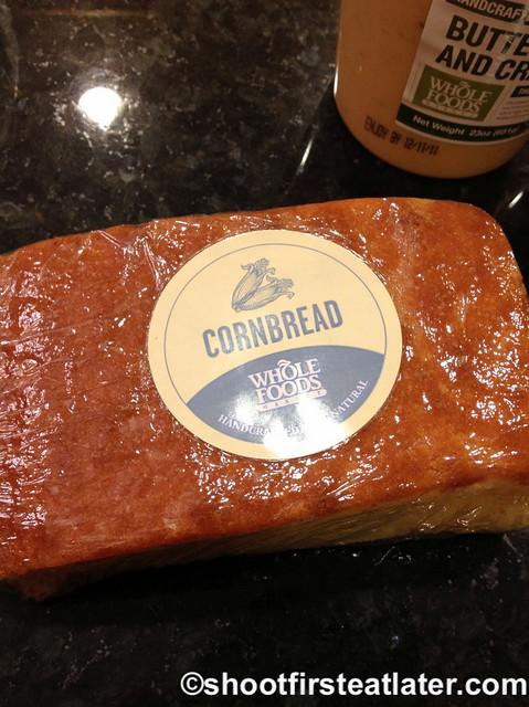 Whole Foods Market cornbread