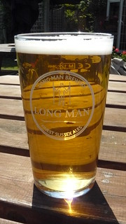 Long Man beer, Wilmington, East Sussex