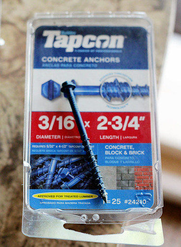 Tapcon Concrete Anchor Screws