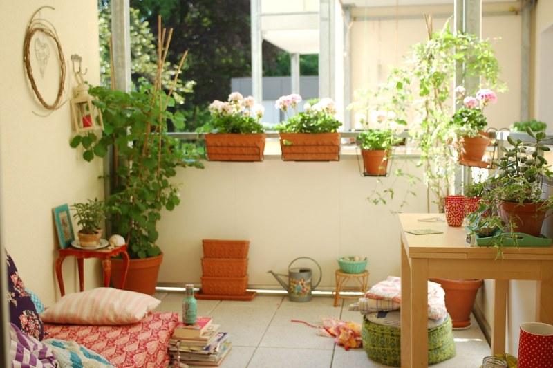 The balcony season is open now