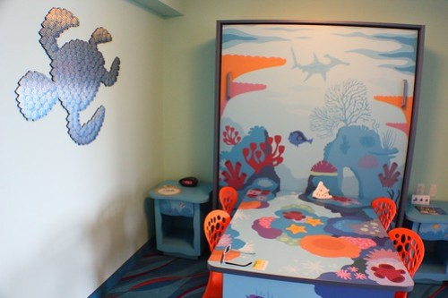 Finding Nemo room at Disney's Art of Animation Resort