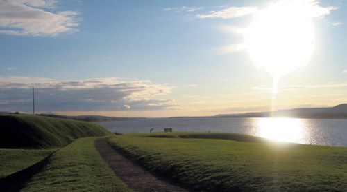 Sunset at Annapolis Royal