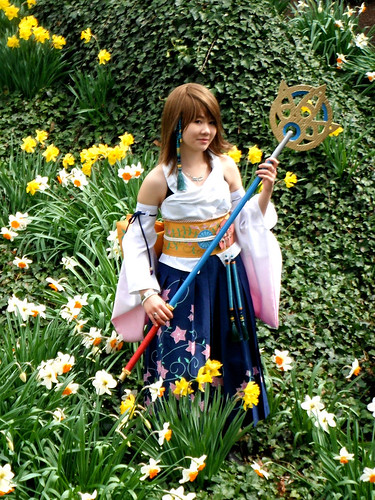 Final Fantasy X Yuna Cosplay