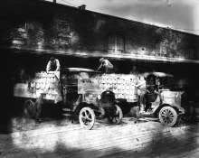 Vancouver Brewery Trucks, 1923