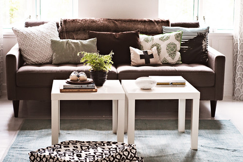 Living Room Decorating Ideas Under $100!