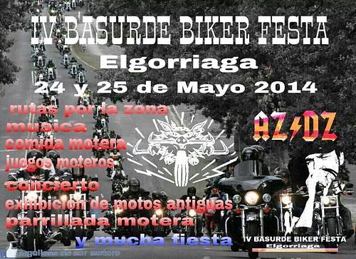 IV Basurde Biker Festa - Elgorriaga