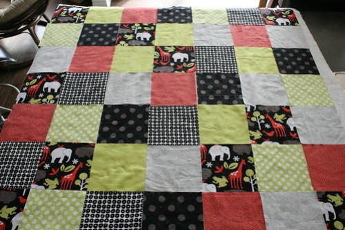 Cutting for Square Patchwork Quilt