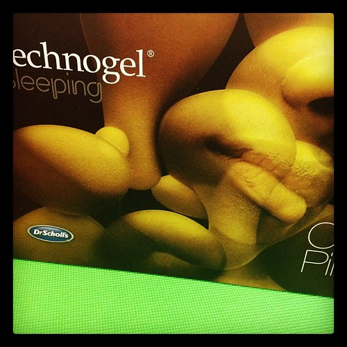 Excited to try my new #technogel pillow! #fitfluential