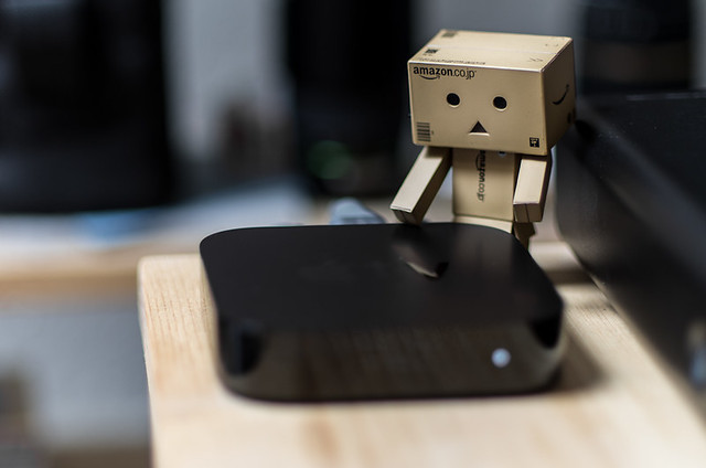 Danbo's new toy