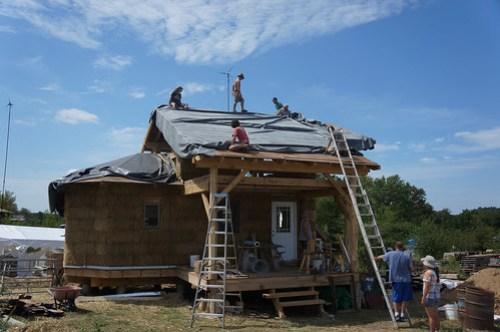 Pond Liner for Living Roof