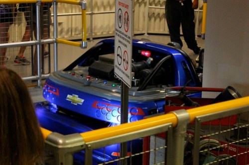 Chevrolet Design Center vehicle - Test Track at Epcot