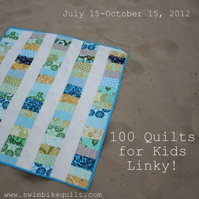 100 Quilts 4 Kids Linky