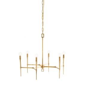 arteriors auburn-6-light-chandelier