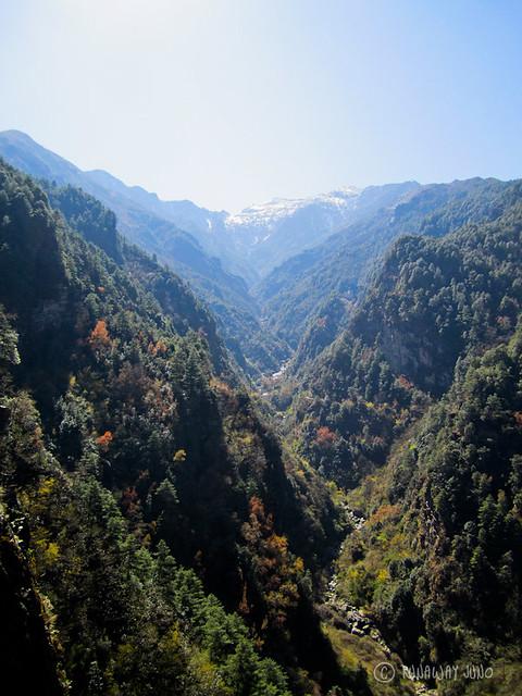 Hiking in Cangshan Dali Yunnan China