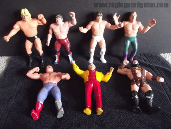 WWF Figures by LJN