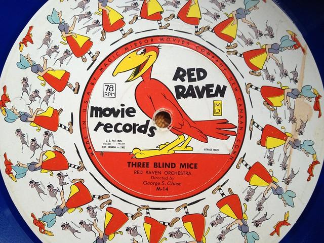 Red Raven Magic Mirror & Animated Movie Records