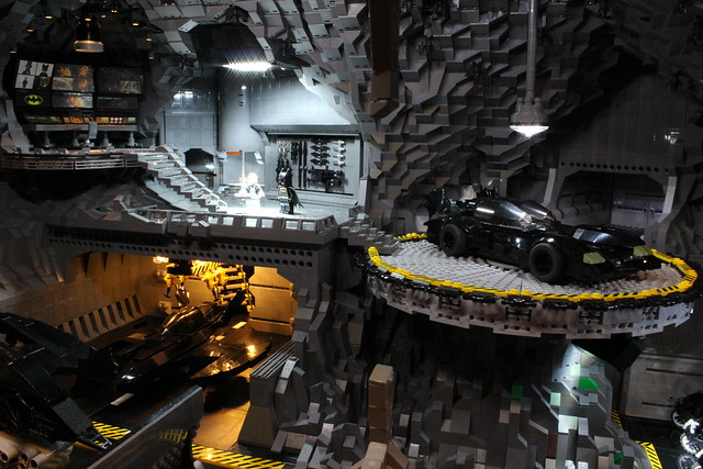 8075012269 42aa385335 z The Bat Cave Built From 20,000 Lego Parts