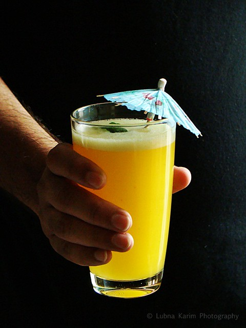 Orange Flavoured Pineapple Spritzer