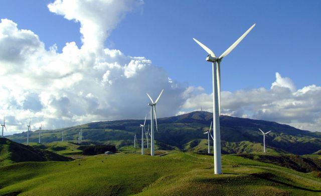 Te Apiti Wind Farm, Manawatu, New Zealand