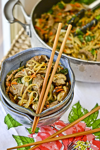 Korean Beef Noodles 4