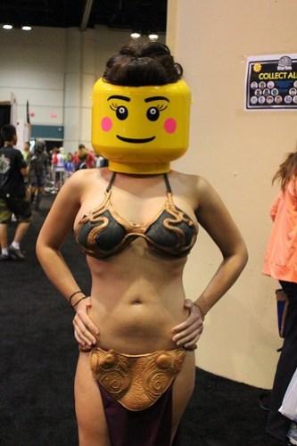LEGO Slave Leia - Star Wars Celebration VI