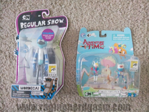 Regular Show_and Adventure Time Comic Con 2012_01