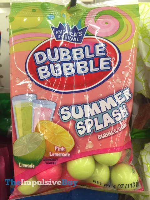 Dubble Bubble Summer Splash Bubble Gum