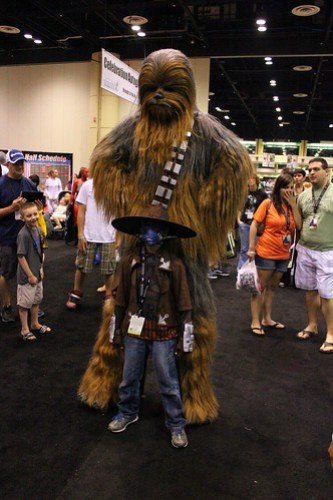 Chewbacca - Star Wars Celebration VI