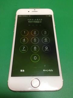 91_iPhone6のフロントパネル液晶割れ