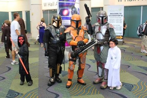 Darth Maul, Padme, Mandalorians - Star Wars Celebration VI