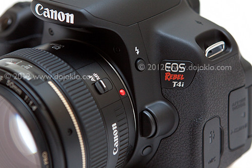 Canon Rebel T4i EOS 650D features compare