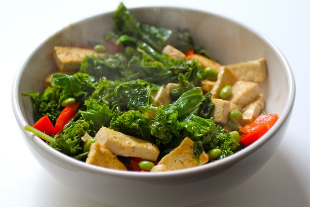 Spicy Stir-Fried Tofu With Kale and Red Pepper, courtesy of The New ...