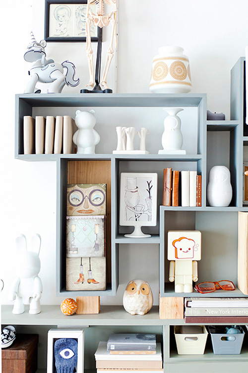 Clever DIY Display Unit + Lovely Dutch Home