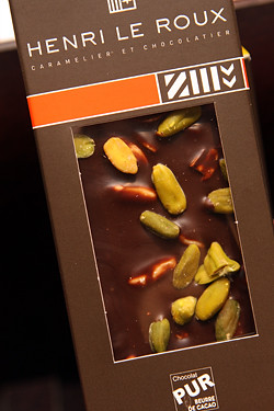 chocolate pistachio bar