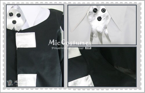Soul Eater Death the Kid Cosplay Costume1