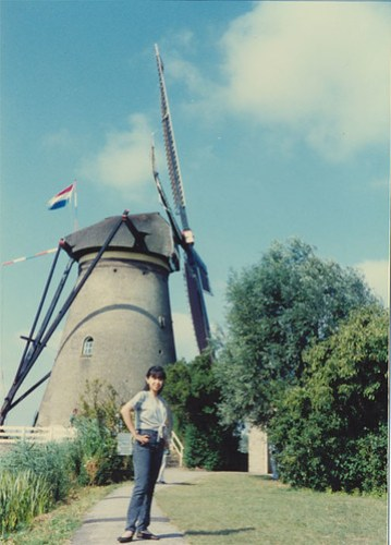 old photo of me in Holland :)