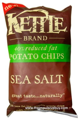 Kettle Brand 40% Reduced Fat Sea Salt Potato Chips