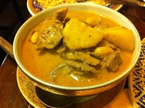 Masaman Beef at Ploy Thai
